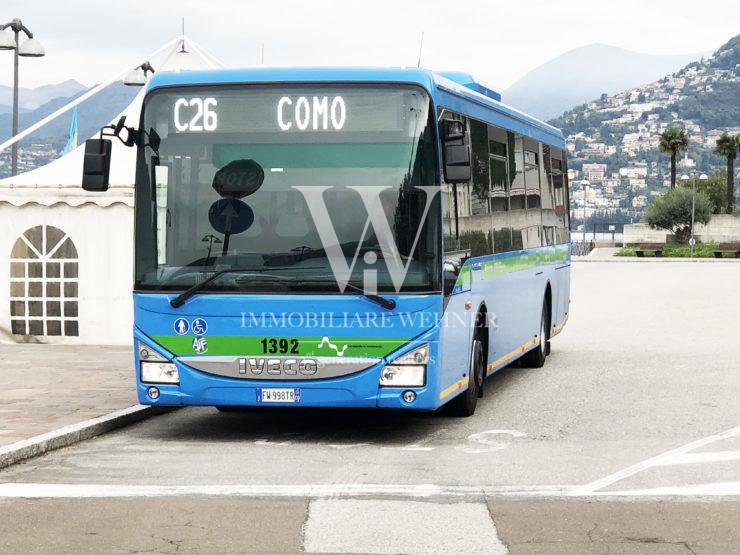 C26 BUS  FOR CAMPIONE — COMO — CAMPIONE